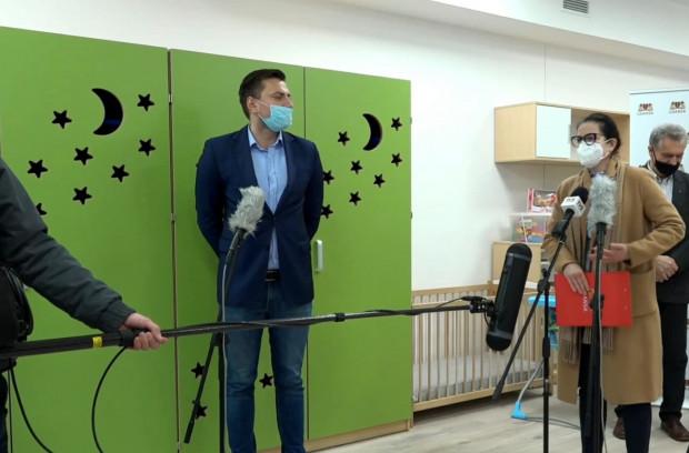 O zmianach w bonie żłobkowym poinformowała w  czwartek prezydent Gdańska w nowym żłobku w Oliwie.