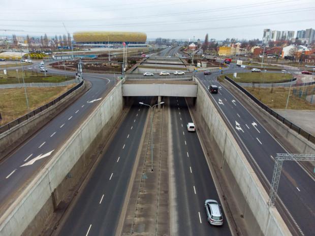 Podczas I etapu prac rura T1 tunelu pod Martwą Wisłą (w stronę Letnicy) będzie zamknięta.