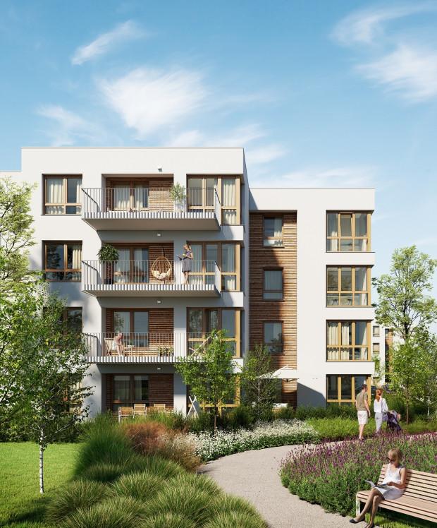 Osiedle Szumilas w Kowalach będzie składać się z kameralnych, 3-piętrowych domów wielorodzinnych.