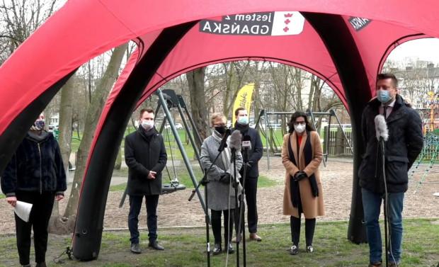 Start nowej edycji Budżetu Obywatelskiego w Gdańsku ogłoszono w parku im. Św. Barbary, który zmienił swoje oblicze dzięki inwestycjom z BO.