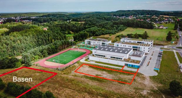 Tu powstanie nowy basen i skrzydło szkoły.