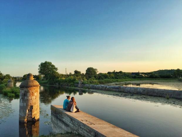 Opływ Motławy w Gdańsku to jeden z ciekawszych parków w Trójmieście. Atrakcją są m.in. leżące na jego terenie fortyfikacje.