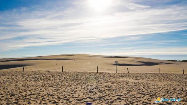 Żeby poczuć się jak na pustyni, wcale nie trzeba kupować wycieczki do Egiptu, wystarczy wybrać się do Łeby.