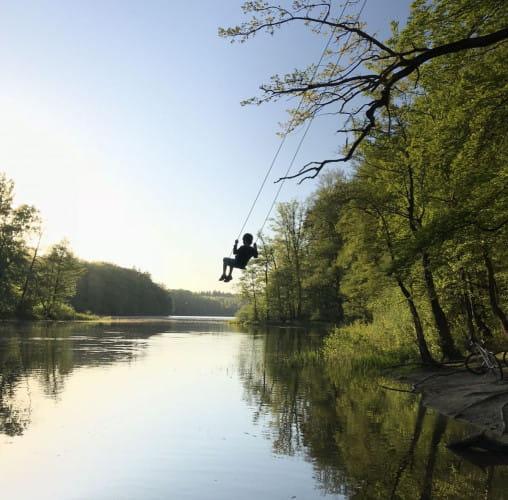 Jezioro Otomińskie jest jedną z atrakcji tej części Trójmiasta, w której powstanie osiedle Szumilas.