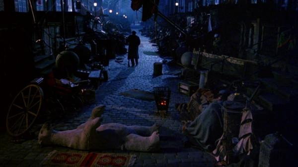 """Ulica Mariacka była planem filmu """"Złodziej tęczy""""/prod. Vincent Winter."""