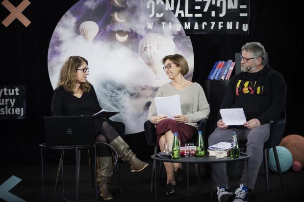Sparing hiszpański - Wojciech Charchalis vs. Ewa Zaleska. Moderacja: Barbara Jaroszuk.