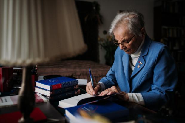 Spotkanie z Anną Przedpełską-Trzeciakowską, laureatką Nagrody Translatorskiej za całokształt twórczości, prowadziła Urszula Kropiwiec.