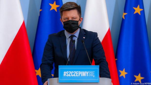 Dworczyk poinformował, że w Polsce wykonano już blisko 9 milionów szczepień przeciw COVID-19.