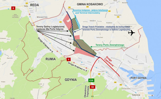 Droga Trzech Powiatów ma się łączyć z Drogą Czerwoną.