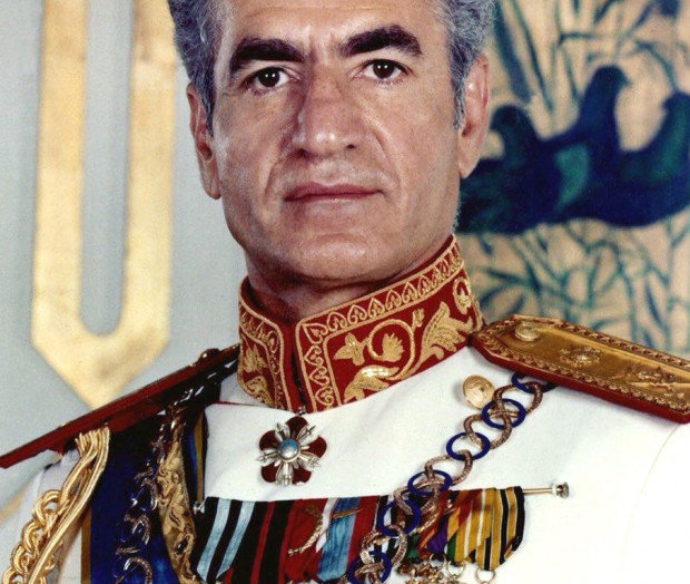 Ostatni szach Iranu, Mohammad Reza Pahlawi (1919-1980).