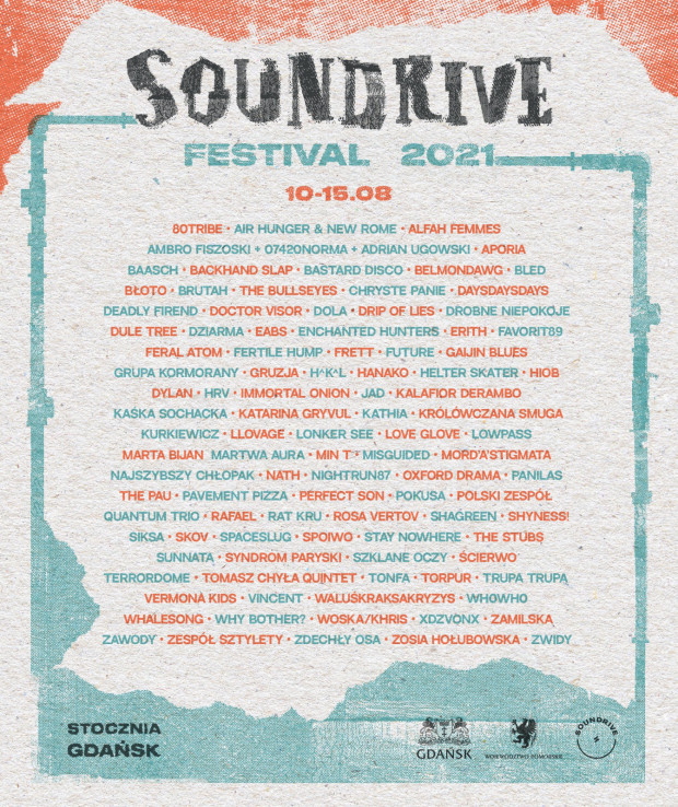 Line-up Soundrive Festival 2021