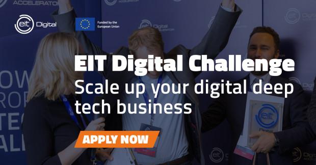 EIT Digital Challenge to konkurs skierowany do europejskich firm zajmujących się zaawansowanymi technologiami cyfrowymi.