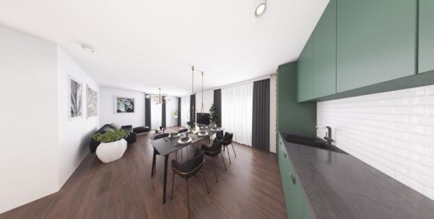 W ramach inwestycji osiedle Maćkowy Potok możliwe jest wykończenie mieszkania pod klucz.