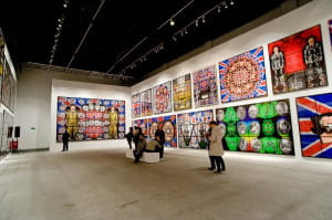 Wystawa zajęła całą przestrzeń wystawienniczą Centrum Sztuki Współczesnej Łaźnia.