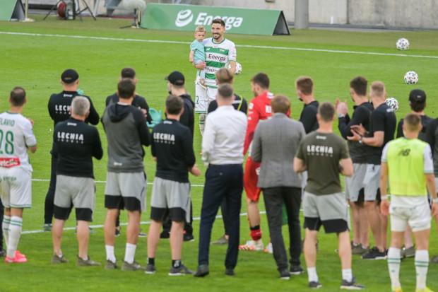 Filip Mladenović po raz pierwszy stawi się na Stadionie Gdańsk od pożegnania, które przygotowała dla niego Lechia Gdańsk 24 czerwca 2020 roku.