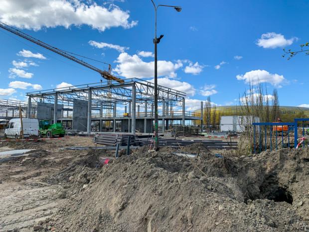 Inwestycja Grupy Plichta powstaje w sąsiedztwie gdańskiego stadionu.