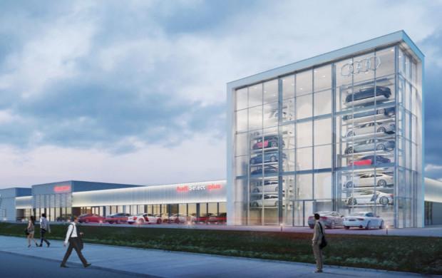 Tak będzie wyglądał kompleks Grupy Plichta przy stadionie.