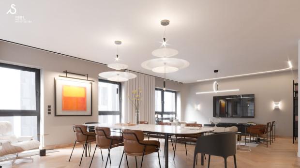 Apartament modernistyczny