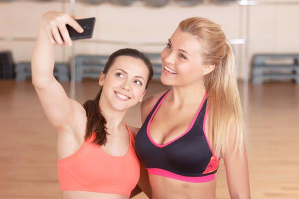 Selfie podczas treningu? A kogo to już dziś dziwi?
