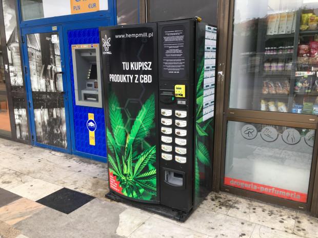 W Trójmieście można znaleźć coraz więcej automatów z produktami zawierającymi CBD np. suszami konopi włóknistych, olejkami z nasion konopi włóknistych czy herbatami z suszem z konopi.