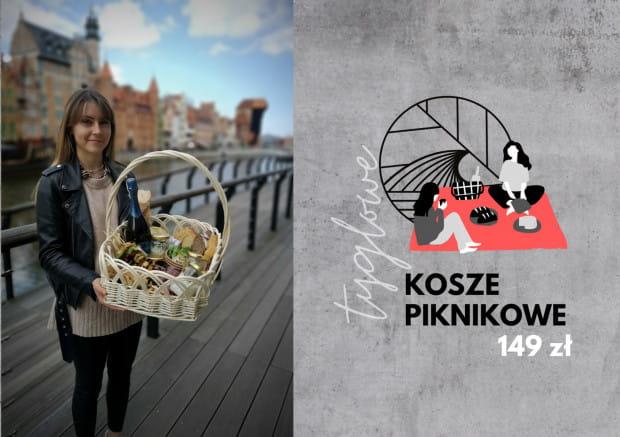 Kosze piknikowe od Tygle zamawiać można online lub osobiście przez całą majówkę.