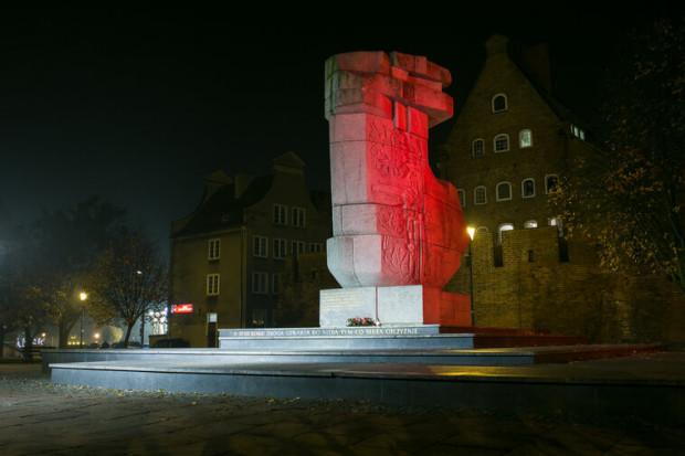 Jednym z podświetlonych na biało-czerwono pomników będzie ten znajdujący się przy ul. Podwale Przedmiejskie.