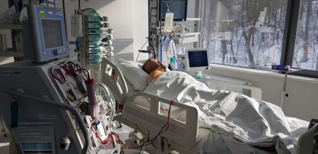 42-letni pan Michał trafił do Uniwersyteckiego Centrum Klinicznego 20 lutego br.