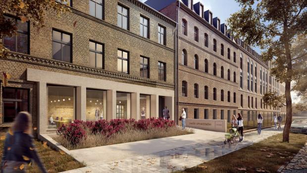 Minimalna ingerencja w wygląd elewacji historycznej zabudowy pozwoli poczuć ducha tej lokalizacji.