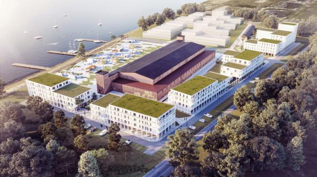 W byłej bazie lotnictwa wodnego w Mielnie powstanie nie tylko luksusowy hotel, ale także wyjątkowa hala widowiskowo-koncertowa z licznymi przestrzeniami sportowymi.