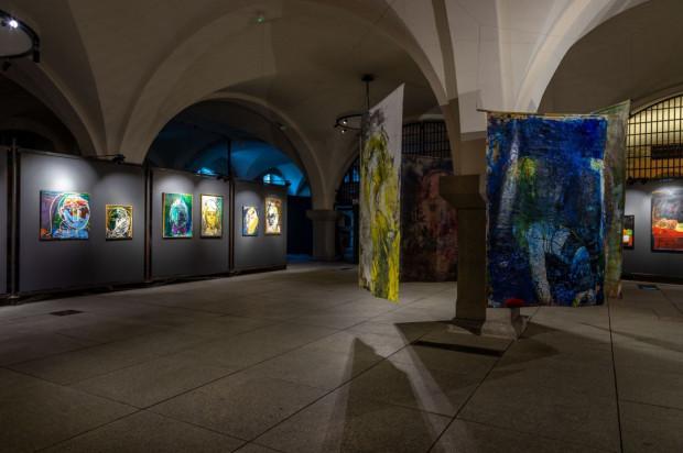 Wystawa Marek Model. Materia malarska i pasja twórcza w Zbrojowni Sztuki czynna do 21 maja.