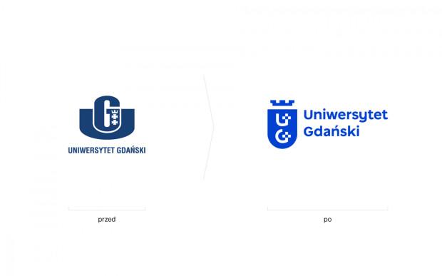 Uniwersytet Gdański ma nowe logo.