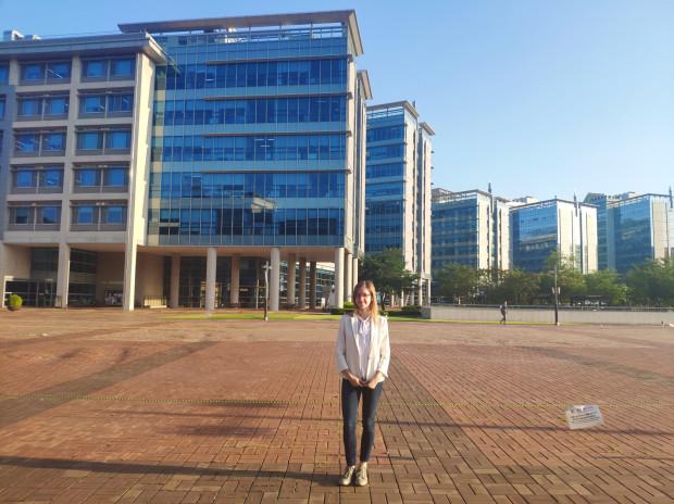Pani Agnieszka wzięła udział w stażu w Korei Południowej z laboratorium Explainable AI w Ulsanie.