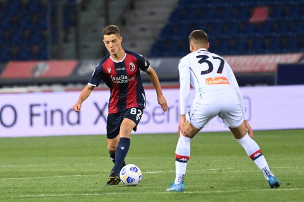 Kacper Urbański doczekał się debiutu na boiskach włoskiej Serie A.