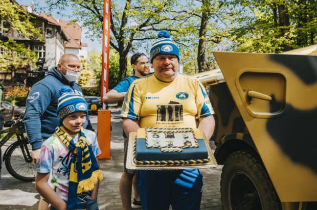 W pomoc zaangażowali się tradycyjnie już rugbyści Arki Gdynia.