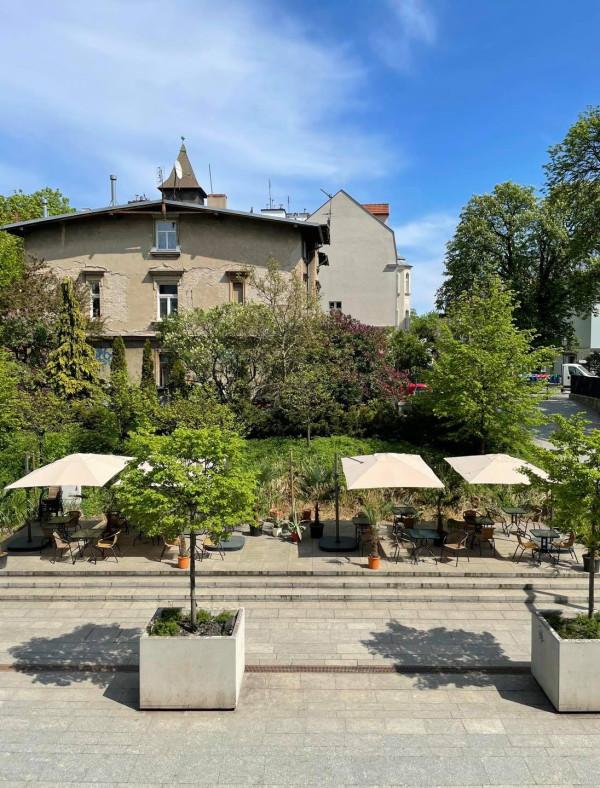 Ogródek restauracji Cały Gaweł w Sopocie