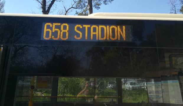 Linia 658 uruchamiana jest sezonowo głównie z myślą o rowerzystach.