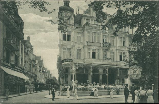 Hotel Metropol, zaprojektowany przez Wilhelma Wernera.