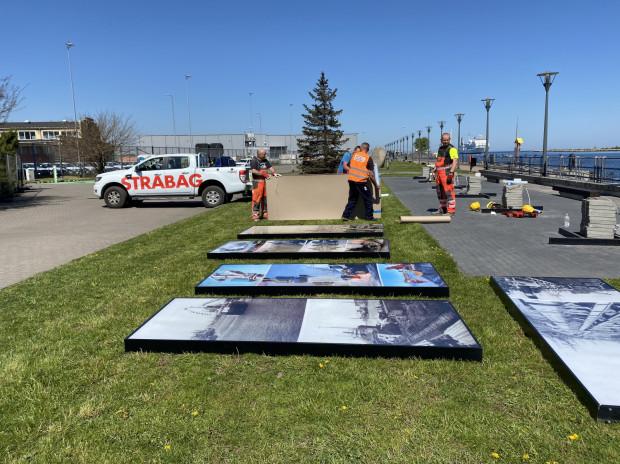 Zakres prac obejmuje m.in. montaż nowych ławek oraz instalacji do prezentacji wystaw.