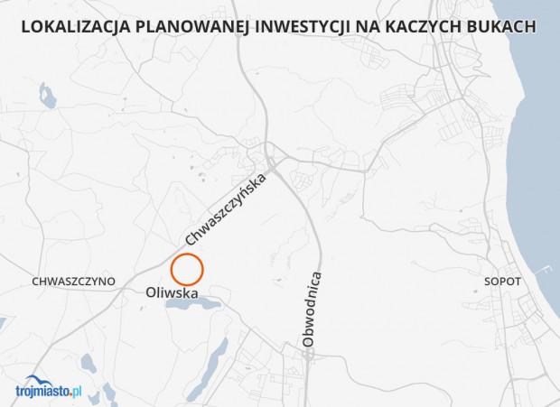 Gdzie powstaną nowe drogi na Kaczych Bukach?