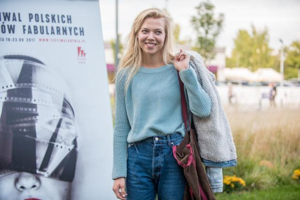 - Staram się odwiedzać Trójmiasto, które naprawdę zaczęłam doceniać dopiero w momencie, gdy przeniosłam się do Warszawy - mówi Marianna Zydek. Na zdj. aktorka podczas FPFF w Gdyni w 2017 roku.