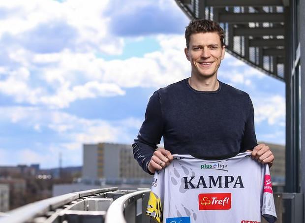 Lukas Kampa został nowym rozgrywającym Trefla Gdańsk.