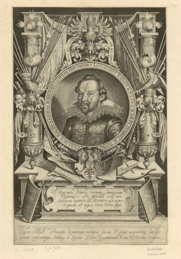 Kasztelan wileński Janusz Radziwiłł (1579-1620), ojciec Bogusława, 1609 r.