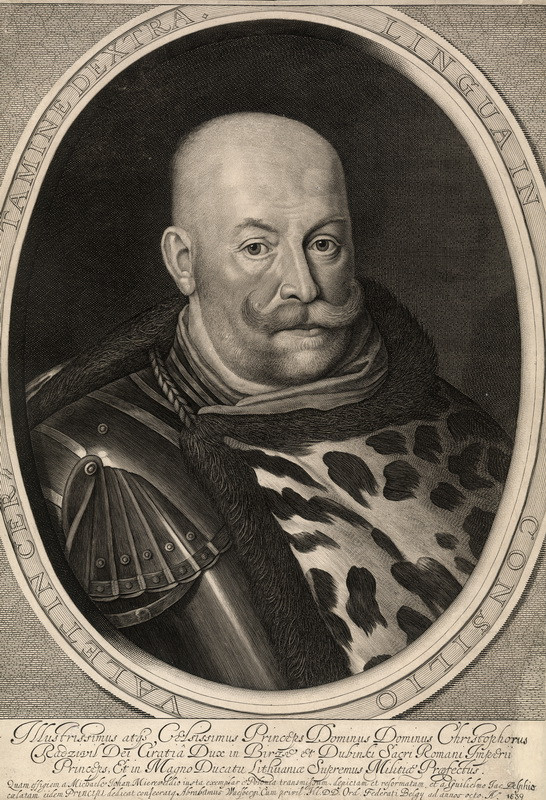 Krzysztof Radziwiłł (1585-1640), prawny opiekun Bogusława, W. Delff, 1639 r.