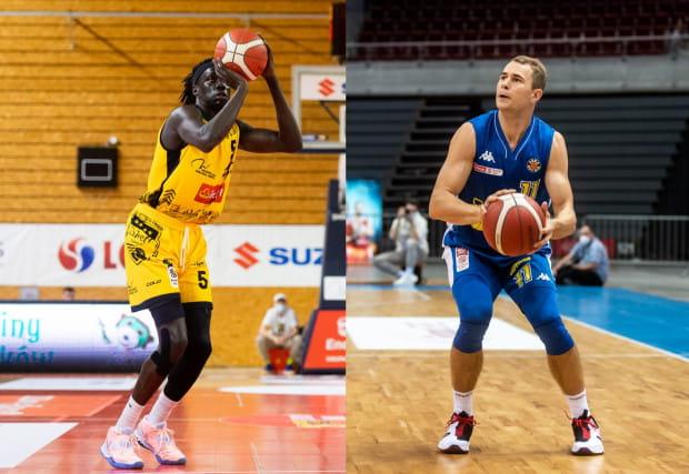 Nuni Omot (z lewej) nie zagra już w Treflu. Natomiast Bartłomiej Wołoszyn zostaje na kolejny sezon w Asseco Arka Gdynia.