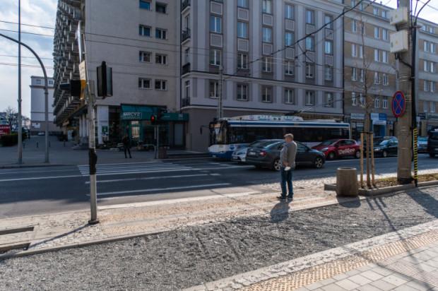 W ramach przebudowy w śródmieściu Gdyni powstanie nowa droga rowerowa.