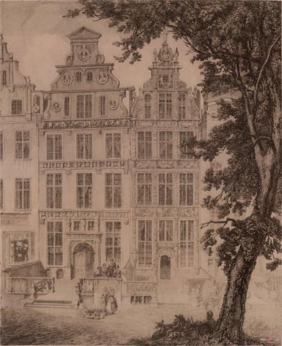 Kamienica przy ul. Długiej 38, 1854 r.