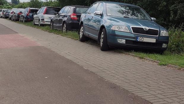 Mieszkańcy narzekali na parkujące na zieleńcu samochody i auta rozjeżdżające drogę dla rowerów. Wyznaczenie miejsc parkingowych zmniejszyło utrudnienia.