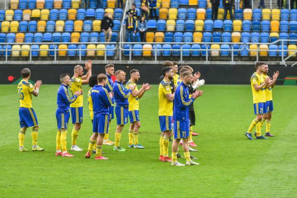 Piłkarze Arki Gdynia i kibice wiedzą jaki jest cel na ten sezon - bezpośredni awans do ekstraklasy.