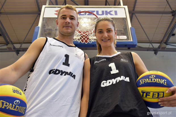Bartłomiej Wołoszyn i Alice Kunek są ambasadorami gdyńskiego turnieju.
