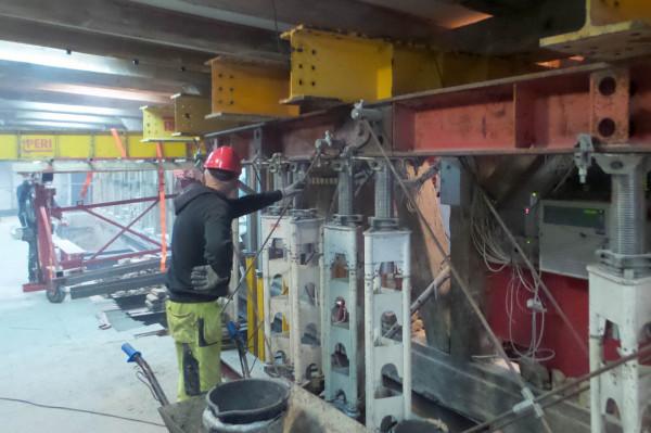 Roboty budowlane w spichlerzu Błękitny Baranek trwały blisko 5 lat.